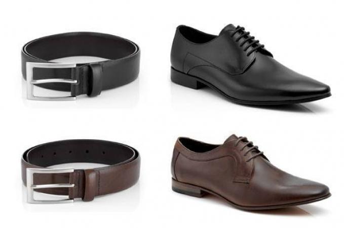 Советы Андре Тана: как выбрать ремень и обувь в цвет фото