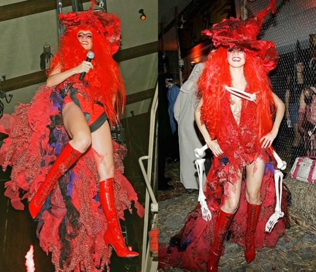 Неповторимая Хайди Клум: потрясающие костюмы супермодели на Хэллоуин - фото №4