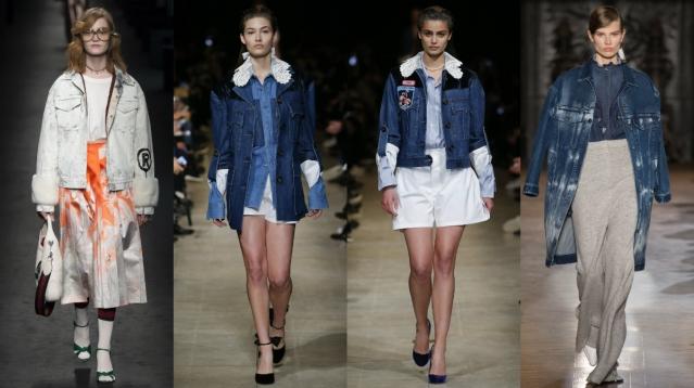 Триумфальное возвращение: джинсовая куртка – хит сезона
