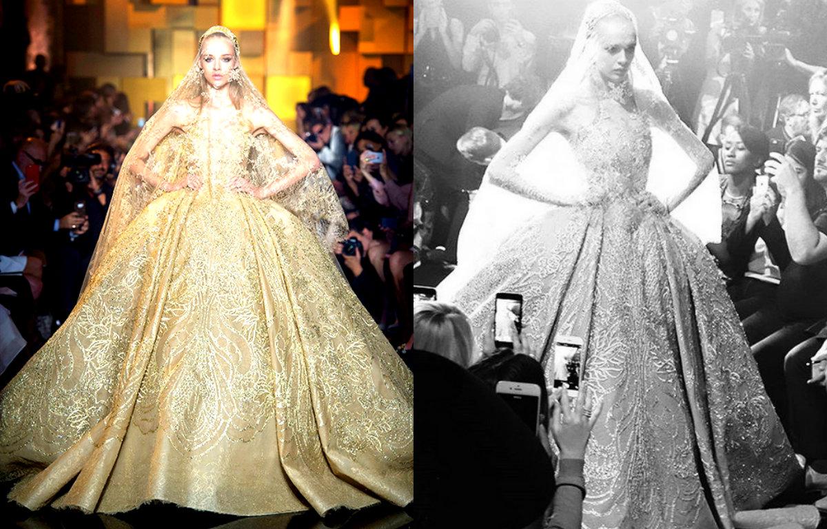 Платья мечты Elie Saab Couture осень 2015