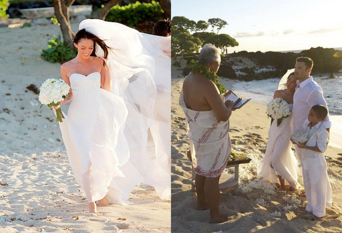 18 самых красивых свадебных платьев звезд