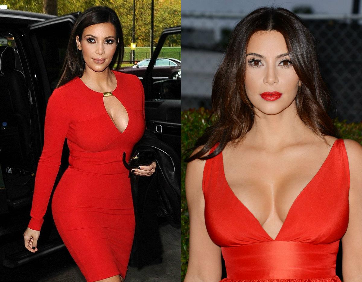 Беспроигрышный вариант: красные платья на День Влюбленных