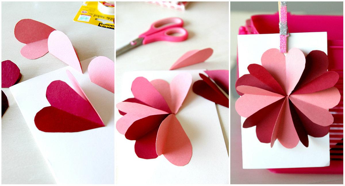 Как сделать открытку на день святого валентина фото 492