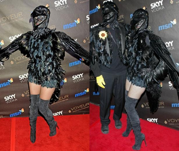 Неповторимая Хайди Клум: потрясающие костюмы супермодели на Хэллоуин - фото №9