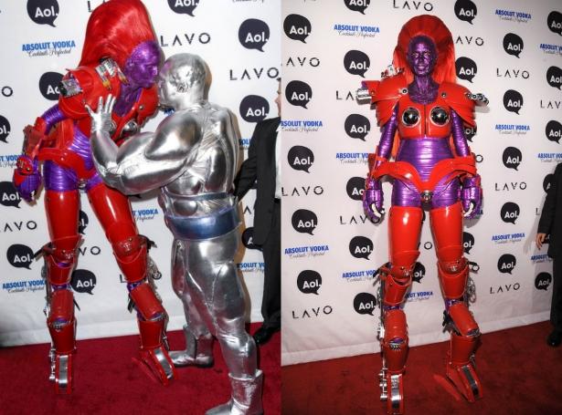 Неповторимая Хайди Клум: потрясающие костюмы супермодели на Хэллоуин - фото №10