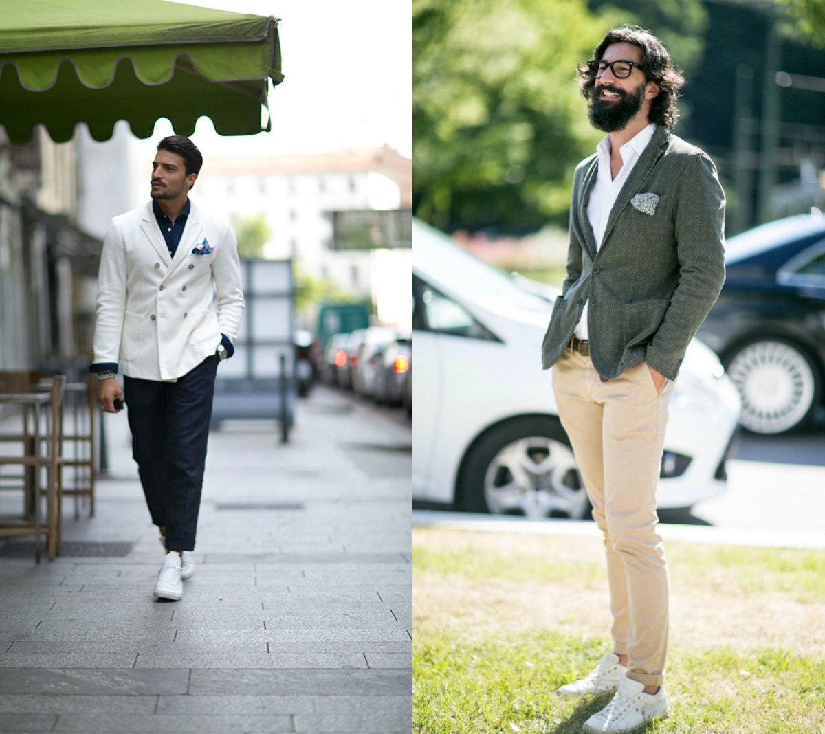 Street style: Неделя мужской моды в Милане весна-лето 2016