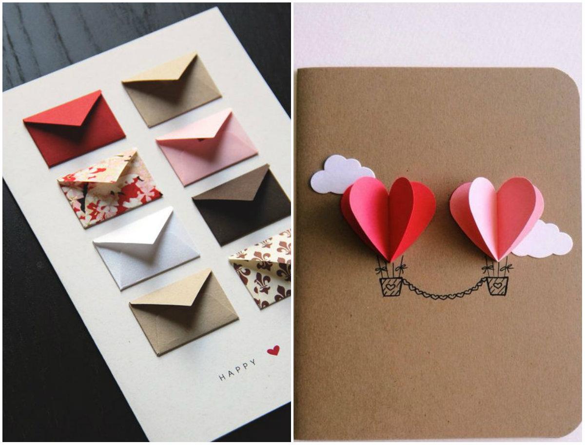 Как сделать открытку на день святого валентина фото 691