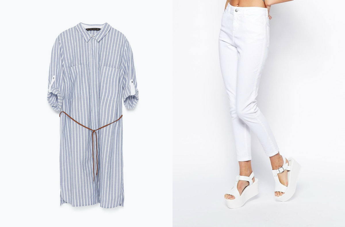 Платье-рубашка – тренд лета 2015: где купить,с чем носить,какое выбрать