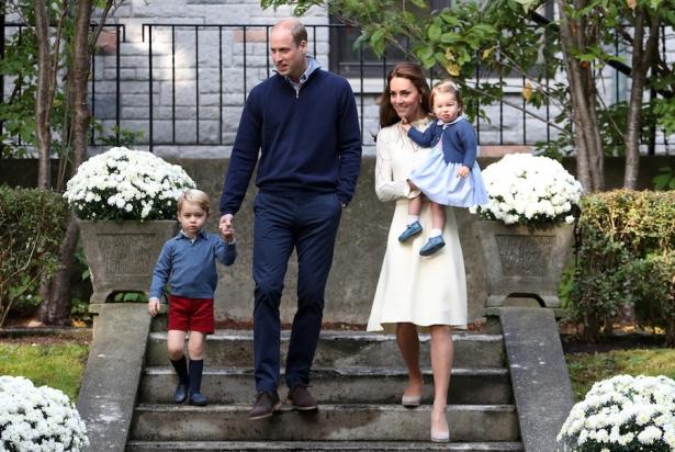 кейт и уильям дети