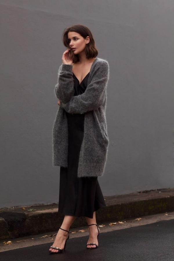 Как носить платье-комбинацию и не выглядеть раздетой
