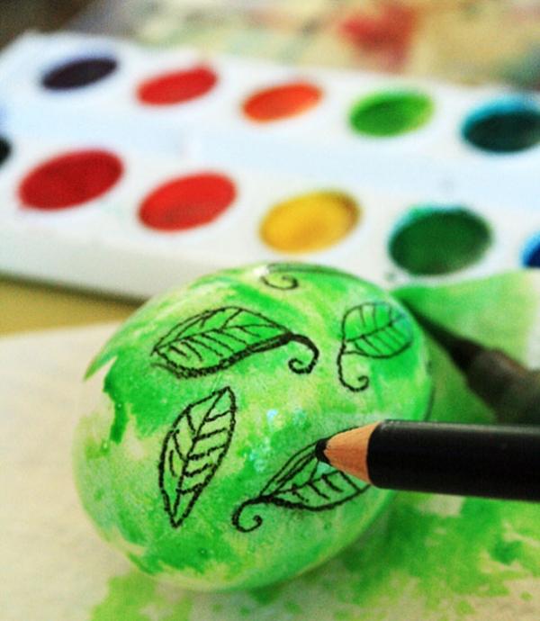 Как красиво красить яйца на Пасху: лучшие идеи - фото №5
