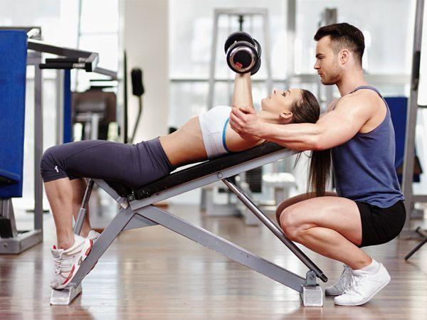 Фитнесс инструктор секс