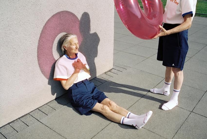 современные бабушка и дедушка
