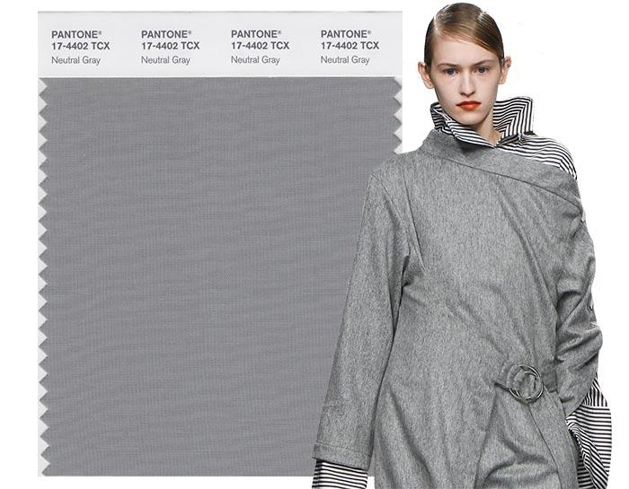 модные цвета осени 2017 фото нейтральный серый пантон фото
