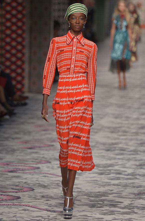 Gucci модная коллекция 2015