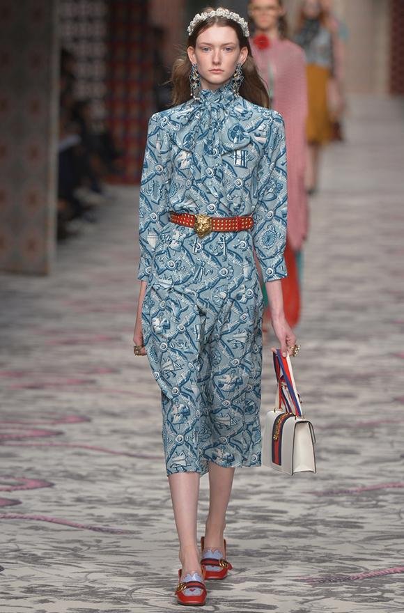 Неделя моды в Милане 2015 показ коллекции Gucci