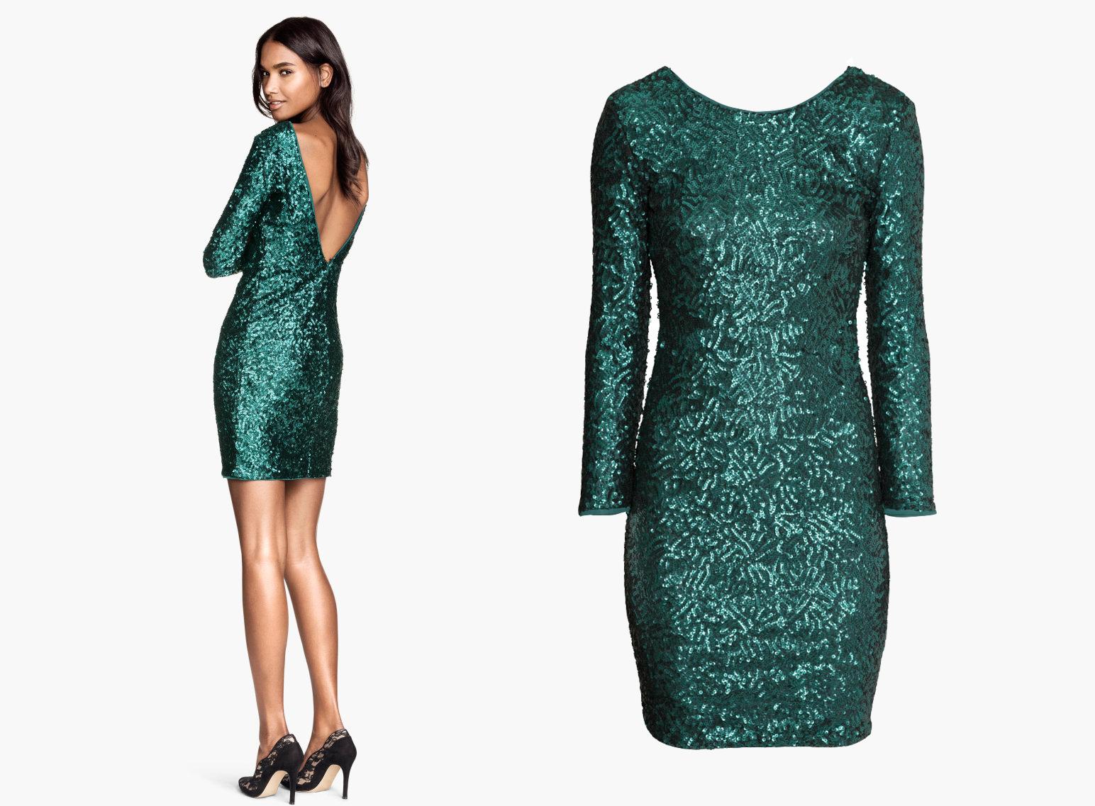 Блестящие мини-платья Saint Laurent - фото №3