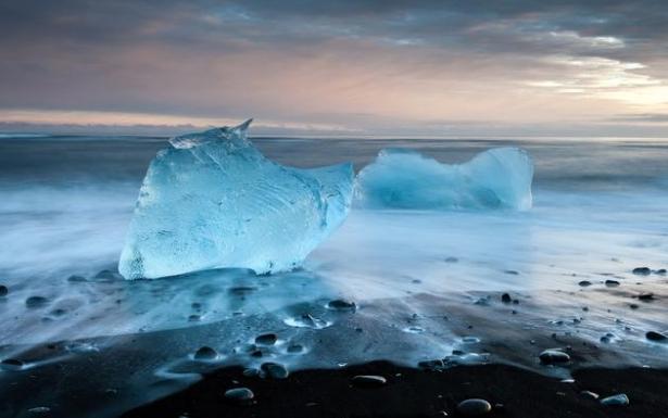 катаклизм из ртути в ледниках