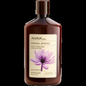Мягкий крем для душа Mineral Botanic «Лотос и Каштан» от AHAVA