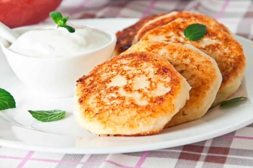 Рецепт сырников с манкой