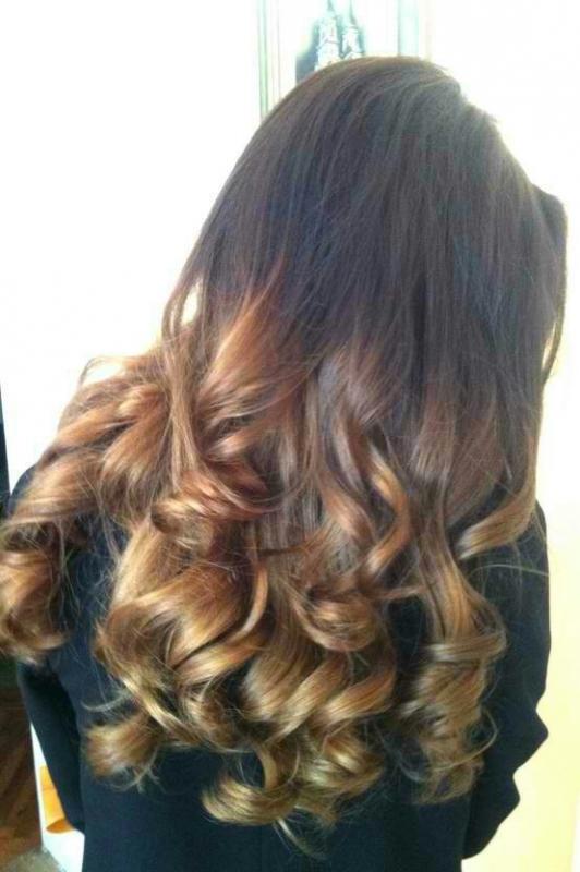 Ombre Hair Color - модный тренд весны 2013 в окрашивании - фото №6
