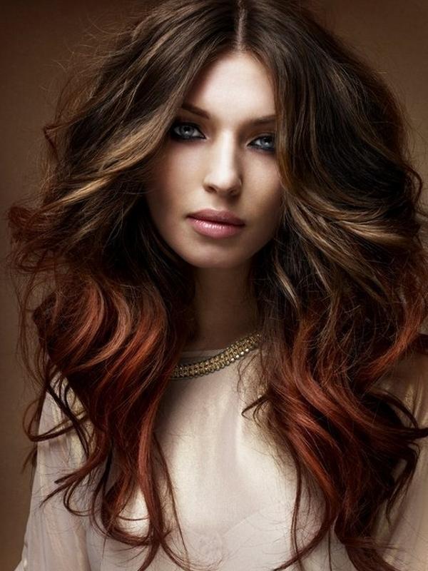 Ombre Hair Color - модный тренд весны 2013 в окрашивании - фото №1