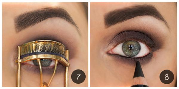 Как сделать модные осенние smoky eyes: пошаговый урок - фото №6