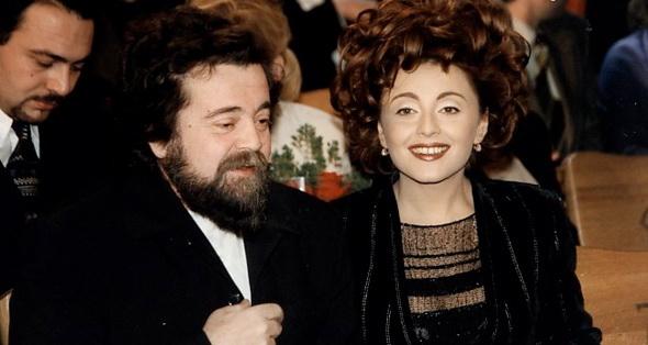 Анжелика Варум с отцом