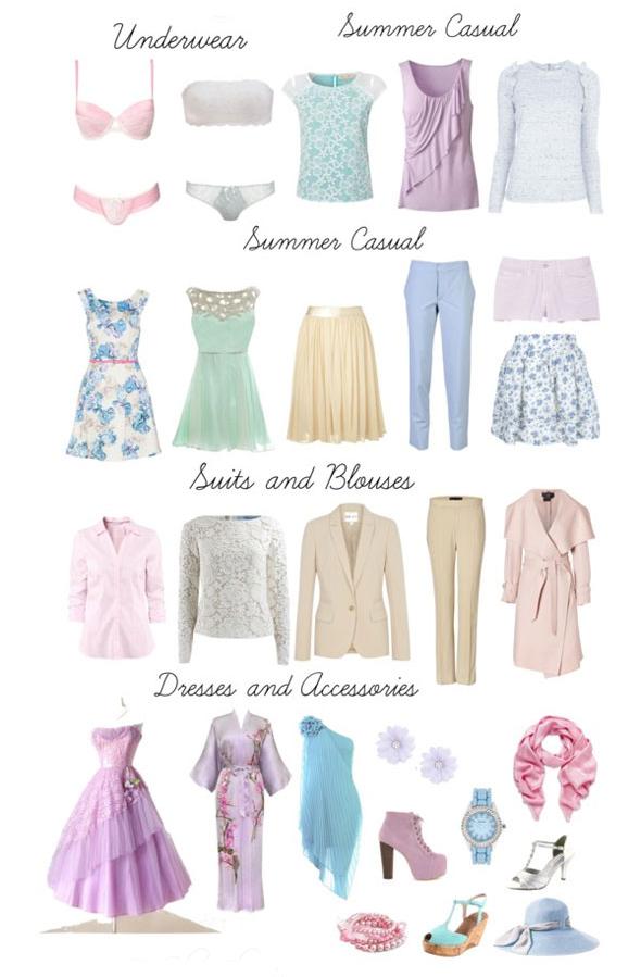 Как подобрать гардероб по цветотипу Лето - фото №4