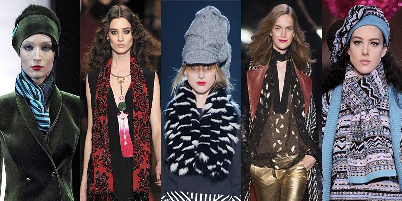 Самые модные шарфы зимы 2013-2014 - фото №6