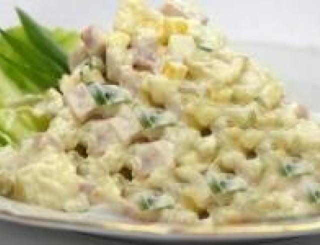 Салат оливье-2