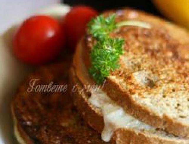 Сандвичи с мясным паштетом по-американски