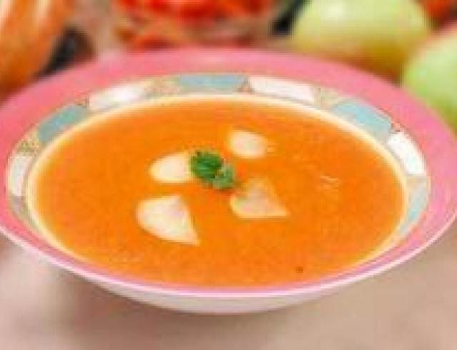 Суп из ревеня латышский