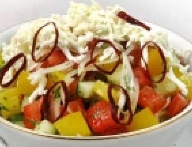 Салат по-шопски (Болгария)