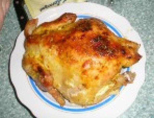 Курица в кокосовом молоке по-кубински