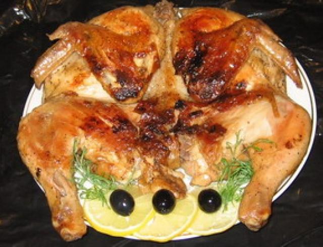 "Цыплята ""Табака"" (грузинское блюдо)"