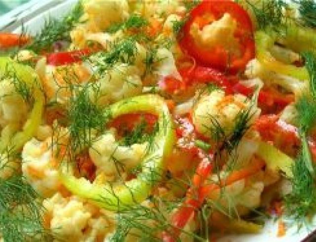 Салат из сладкого перца