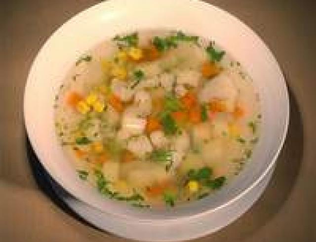 Картофельный суп с капустой