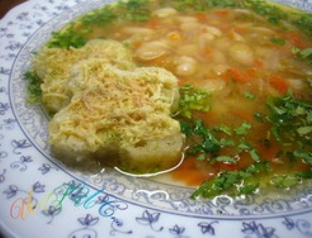 Акудрца- суп из фасоли по-абхазски