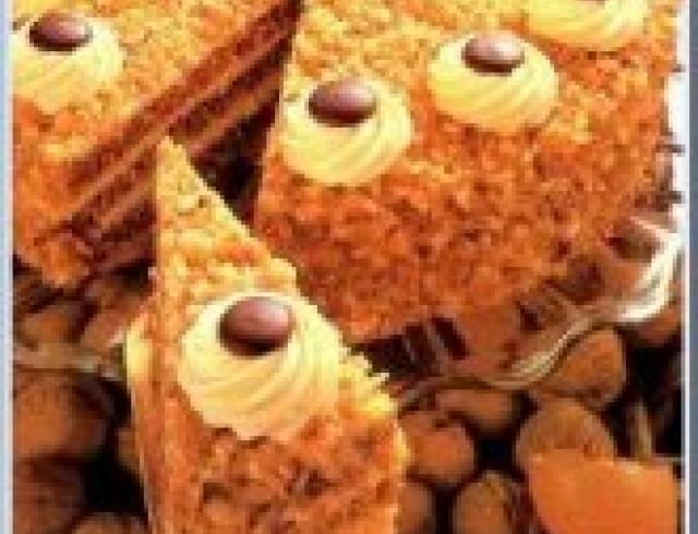 Греческий торт с грецкими орехами