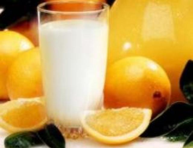 Напиток молочно-лимоный рецепт