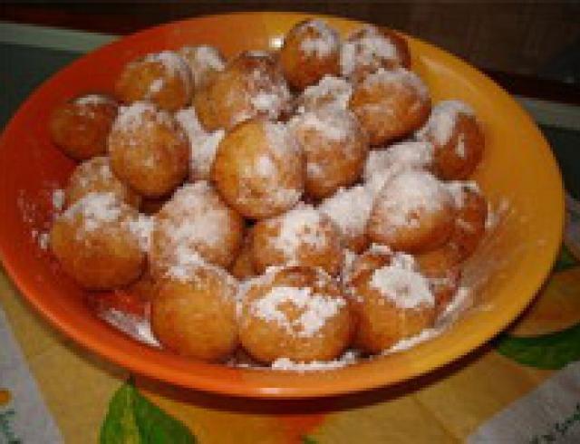 Пончики (вкус детства)