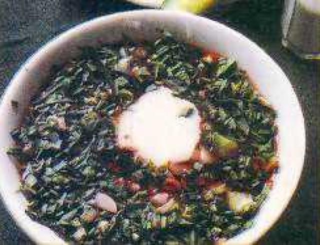 Сливовый суп