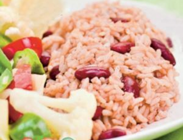 Рис с фасолью по-аргентински