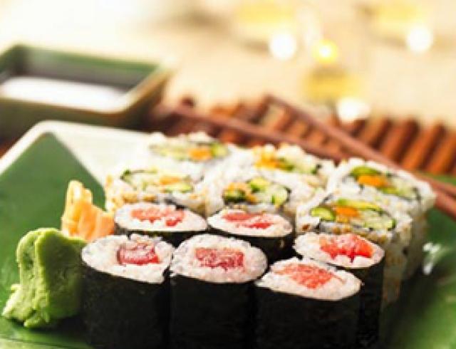 Нигири-суши с угрем (журнал Гастрономъ)