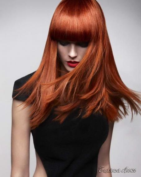 волос схема длинных стрижек для