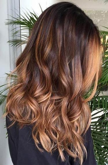 Из коричневого в серый цвет волос