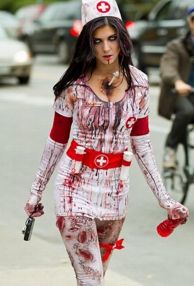 Костюм медсестра на хэллоуин своими руками