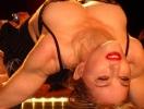 Мадонна превратила спину в политический плакат