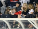 Златан Ибрагимович с женой и детьми на стадионе. Фото